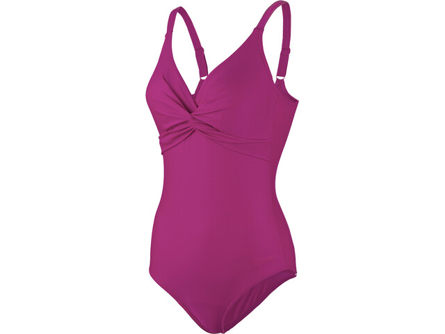 speedo Brigitte Swimsuit Dame deep plum
